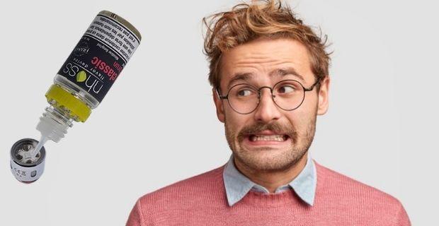 Fuite cigarette Nhoss: explication du problème, comment l'éviter?